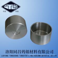 Pure forjó el crisol de la aleación del tungsteno pequeño en Densoty 17.5g / cm3
