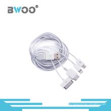Universal 4-in-1 USB Lade- und Datenkabel für Mobiltelefon
