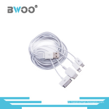 Universal 4-in-1 USB Charging and Data Cable for Mobile Phone