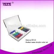 12 Colors Painting Pigment Design Tube Acrylic Color Set