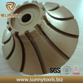 Super Hard Diamond Metal Bond Router Edge Grinding Wheel