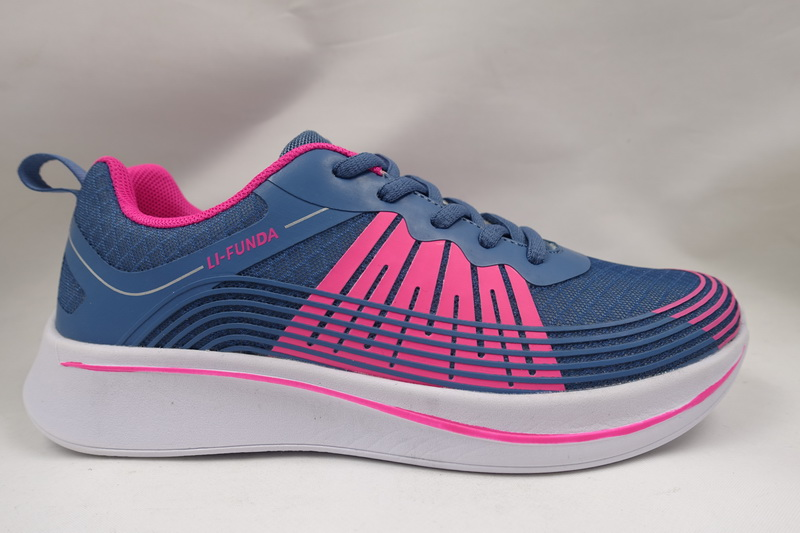 Blue Breathable Mesh Shoes