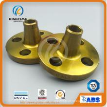 Flange de aço ANSI b16.5 crabon flange bw solda de topo (kt0390)