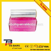 Marca de fábrica del OEM / diseño libre hoja de aluminio caliente de la peluquería de la venta
