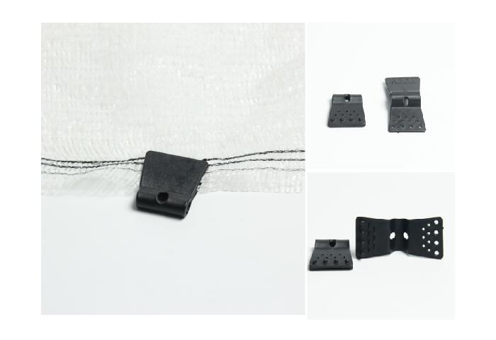 Plastic Netting Clips Polyclips,Vineyard Netting extras,Netting Clips,Bird Net Clips,