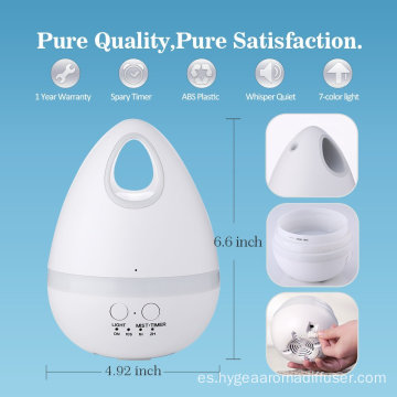 Egg Deodorize Air Aroma Scent dispensador de agua 200ml