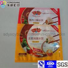 Embalaje de plástico de bolas de masa hervida de grado alimenticio
