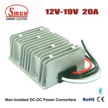 Conversor de voltaje de convertidor de 12V a 19V 20A DC-DC