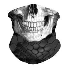 Cráneo Mascarilla Bandanas Cuello Polaina