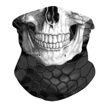 Skull Face Mask Bandanas Neck Gaiter