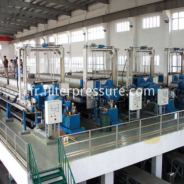Continuous Filtering Filter Press