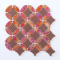 Мозаичная плитка из мраморной мозаики / Мозаичная стеклянная мозаика EL9537