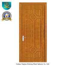 Porta de estilo chinês HDF para entrada com cor marrom (ds-098)