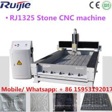 Prix de machine de gravure de pierre de commande numérique par ordinateur de 1300 * 2500mm