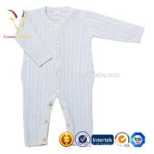 Camisola agradável do bebê recém-nascido do cabo, terno do bebê