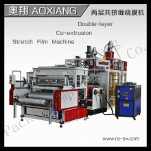 CD-75-1200 máquina de fabricación de película de envoltura de estiramiento de pe automático completo