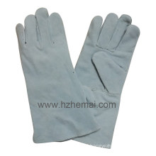 Flame Resistant Cow Split Leather Welding Work Glove China