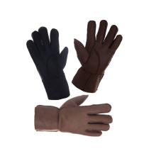 Натуральные женские зимние перчатки из овчины