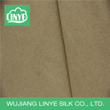 Schuss gewebte 100% Polyester Wildleder Stoff für Sofa Polsterung