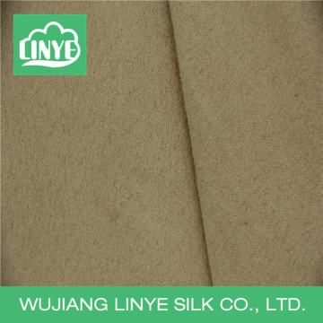 weft woven 100% polyester suede fabric for sofa upholstery