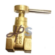 válvula de porta lockable magnética de bronze para o medidor de água bronze válvula de porta lockable magnética para o medidor de água Especificação: