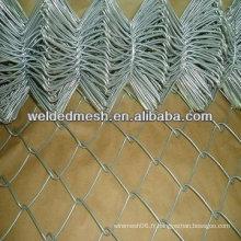 Clôture en chaîne galvanisée à chaud à haute température (fabrication ANPING)