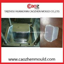 Injection plastique 1500ml Verrouillage / moule de récipient alimentaire