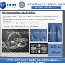 Plastic Clear Part Moulding (Plastic Molding)