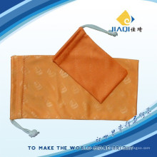 embossed brand microfiber eyecare bag