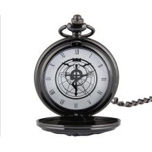 Relógio de bolso de design resistente a água com movimento de quartzo