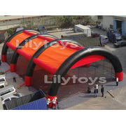 sport gun games 30 x15 m 1500D pvc inflatable bunker tent l