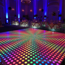 Piste de danse colorée LED