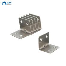 OEM hardware L shape steel angle brackets