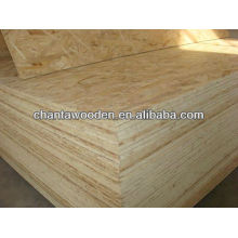 1220x2440x9mm cheap price for the OSB panel /structure bracing