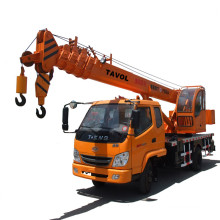 Chinese Hydraulic Truck Mobile Crane with 10t Capacity