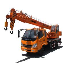 Guindaste móvel de caminhão hidráulico chinês com 10t de capacidade