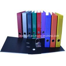 Qualité A4 PP Lever Arch File avec Spine Label Pocket
