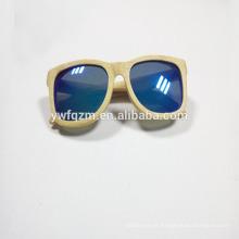 Óculos de sol elegantes de madeira e bambu de alta qualidade
