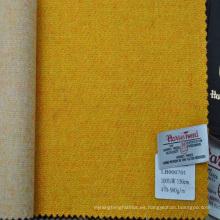 estilo de moda hecho a medida tejido de tweed para hacer la sobrecapa de mujer