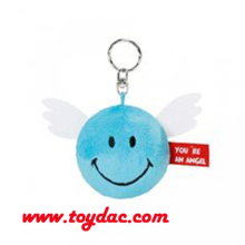 Stuffed Ball Key Ring