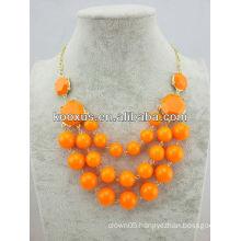Popular fashion bib necklace jewelry wholesale (KCXL-A17)