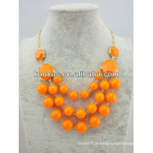 Popular moda bib colar de jóias por atacado (KCXL-A17)