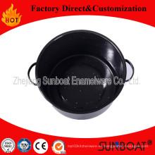 Sunboat 21qt Esmalte Stock Pot / Enamel Steamer / Stew Pot