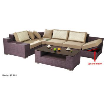 Functional Sofa Set Wicker Rattan Outdoor Furniture Bp-865