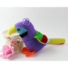 Juguetes lindos de la selva del pájaro relleno del juguete del loro del juguete para la venta
