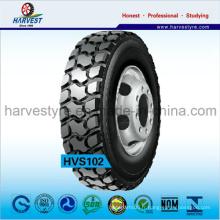 Extraction en profondeur de la bande de roulement à l'aide de pneus de camions lourds