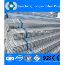 Traitement de surface galvanisé tube ERW