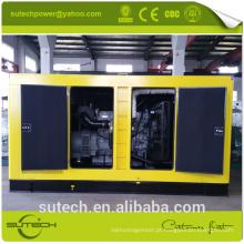tipo aberto / silencioso único / trifásico gerador diesel de CE & ISO 15 kva
