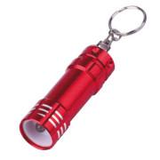 3LED 3 * AG13 nhôm nhỏ kích thước keychain đèn pin