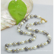 Glass pearl beads for bracelet,shinning glass pearl beads,glass pearl beads